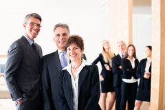 Business Team Posing For A Group Shot Stock Photography