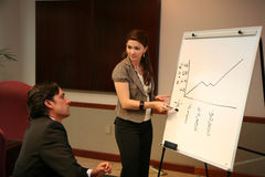 Business Team Presentation Royalty Free Stock Photography