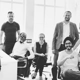 Business Team Professional Occupation Workplace Concept Royalty Free Stock Photos