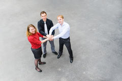 Business team ready for action Stock Images