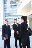 Business Team Shaking Hands Stock Photography