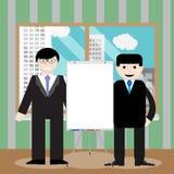 Business team show presentation Stock Images