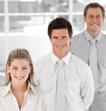 Business team showing Spirit Stock Photo