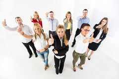 Business team Showing Thumbs Up Royalty Free Stock Images