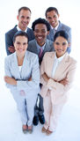 Business team smiling at the camera Royalty Free Stock Image