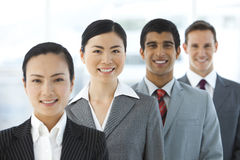 Multi ethnic Business Team Royalty Free Stock Images
