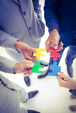 Business team solving a problem Royalty Free Stock Photography
