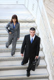 Business Team on Stairs Stock Images