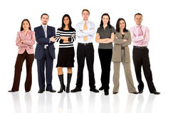 Business team standing Royalty Free Stock Image