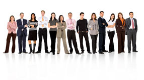 Business team standing Stock Photos