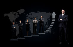 Business team is standing Royalty Free Stock Photo