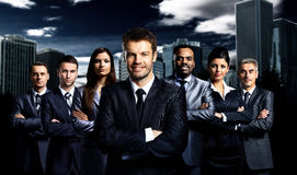 Business team standing Stock Photography