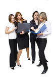 Business team studying contracts Stock Photography
