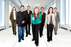 Business team for success Royalty Free Stock Images