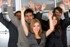 Business team success Stock Images