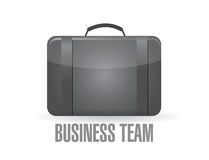 Business team suitcase concept Royalty Free Stock Images