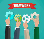 Business team and teamwork concept Stock Photography