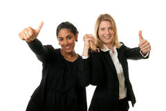 Business team thumb up Royalty Free Stock Image