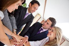 Business team together Royalty Free Stock Image