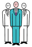 Business Team. Vector Illustration Royalty Free Stock Photos