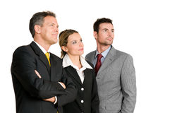 Business team vision stock photo