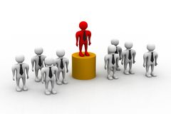 Business Team With Leader Royalty Free Stock Photography