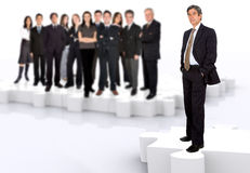 Business team work Royalty Free Stock Photo