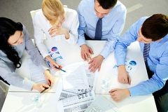 Business team at work Royalty Free Stock Photography