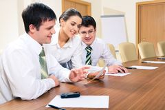 Business team at work Royalty Free Stock Photo