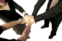 Business Team Work! Royalty Free Stock Photo