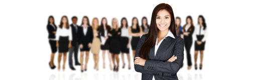 Business Team At Work Stock Image