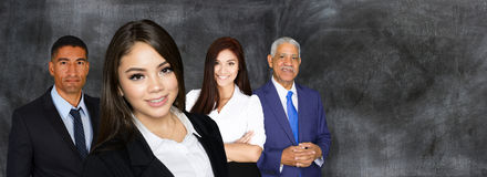 Business Team At Work Stock Photography