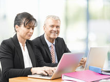 Business team at work Royalty Free Stock Photos
