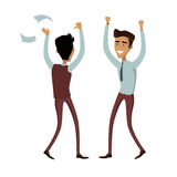 Business Team Work Success Concept Vector Royalty Free Stock Photography
