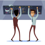 Business Team Work Success Concept Vector royalty free illustration