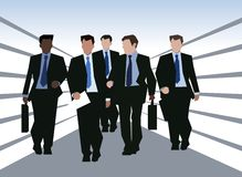 Business team workers Royalty Free Stock Image