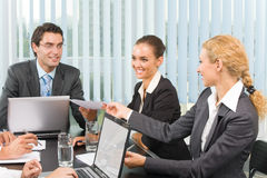 Business team working Stock Image