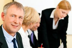 Business team working in a meeting Stock Images