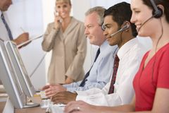 Business team working in office Royalty Free Stock Photography