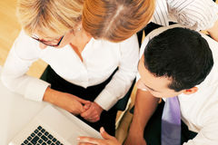 Business team working in the office Royalty Free Stock Images