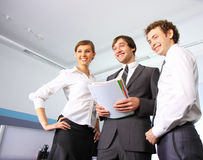 Business team working at office Royalty Free Stock Photo