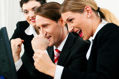 Business team working in the office Stock Photos