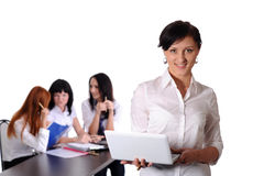Business team working at office Royalty Free Stock Images