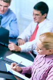Business team working at office Stock Images