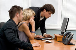 Business team working in office Royalty Free Stock Images