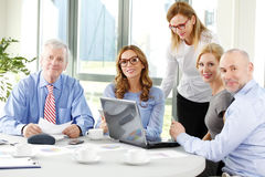 Business team working at office Royalty Free Stock Photos
