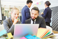 Business team working in office Royalty Free Stock Photos