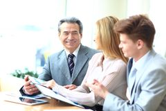 Business team working Royalty Free Stock Images