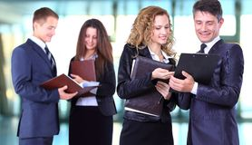 Business team working Royalty Free Stock Photography