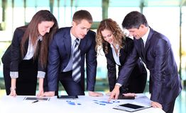 Business team working Stock Photo